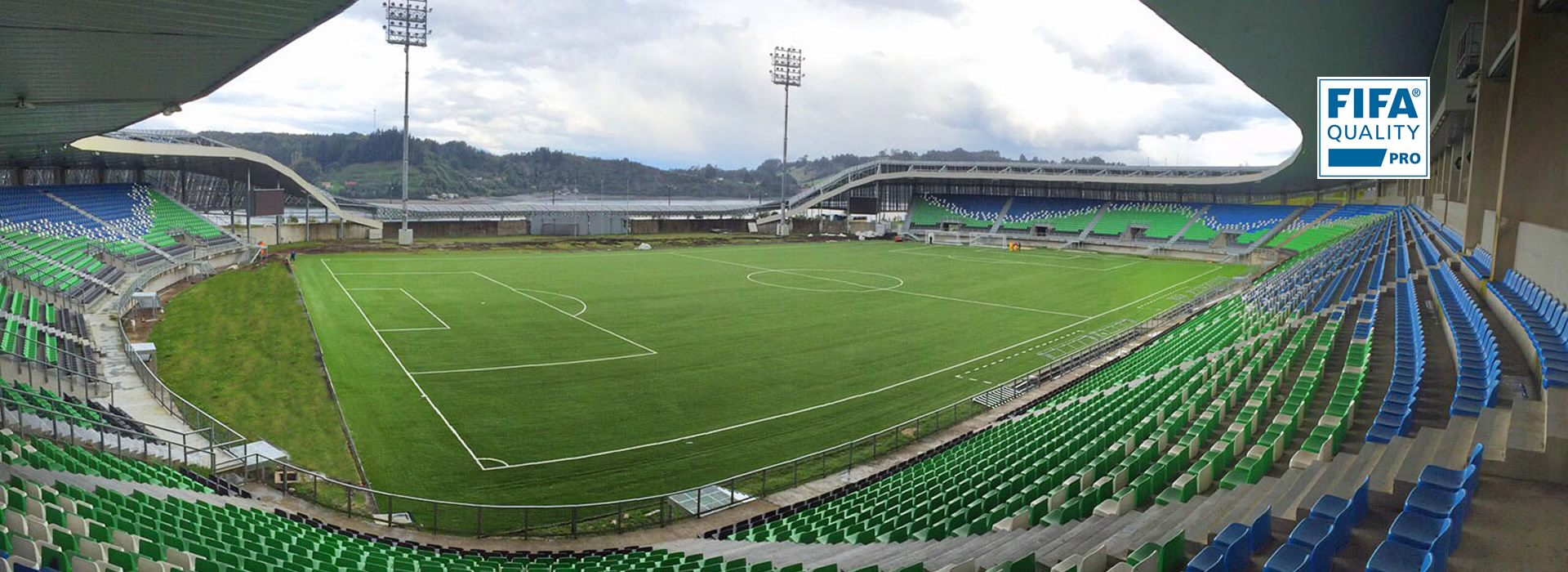 Superficie de hierba artificial CCGrass para la FIFA Sub-17