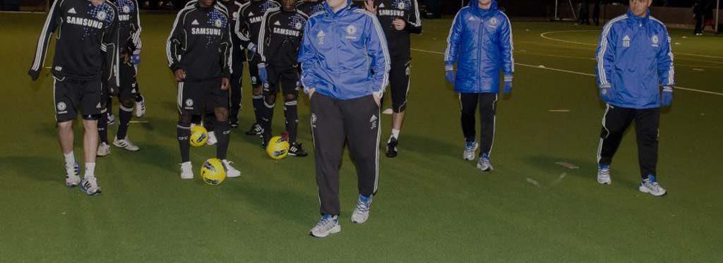 Proveedor de césped artificial para el Chelsea Club