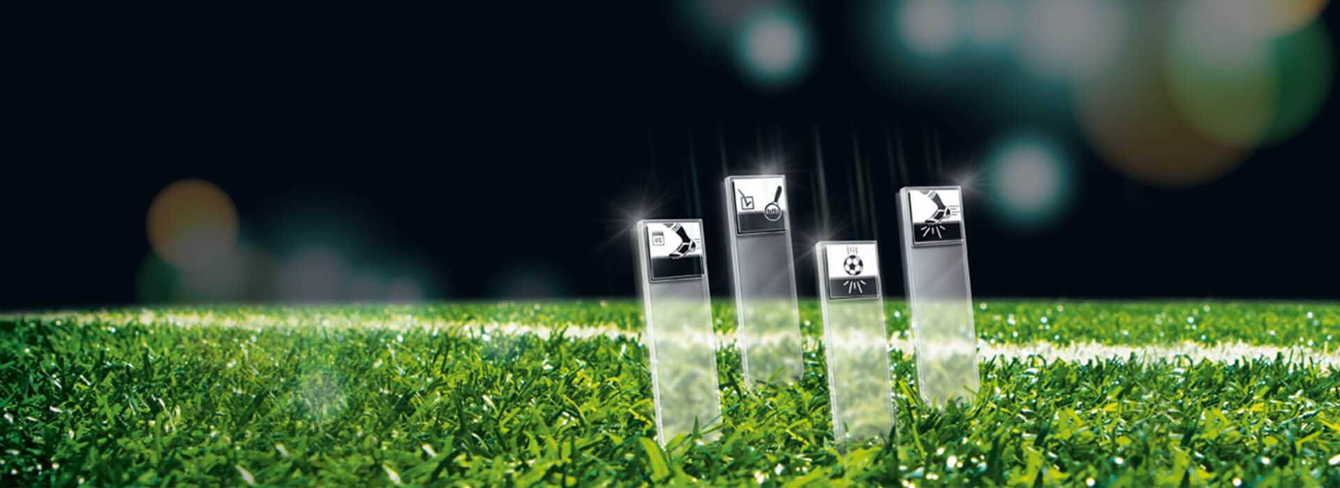 FIFA prefirió el productor de campos de fútbol de césped artificial