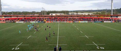 Pasto de CCGrass instalado para Munster Rugby