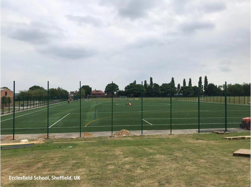 Actualización de la cancha de la escuela Ecclesfield 2