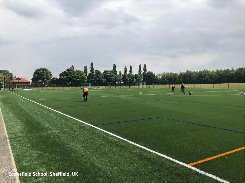 Actualización de la cancha de la escuela Ecclesfield 3