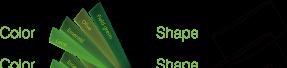 ccgrass artificial grass manufacturer product Nature D3-color-shape