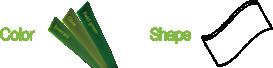 ccgrass artificial grass manufacturer product Prime SM-color-shape1