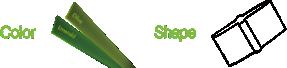 ccgrass artificial grass manufacturer product Stemgrass-color-shape3
