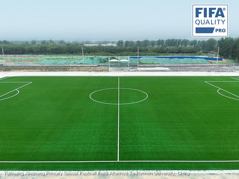 CCGrass, campo de fútbol, China