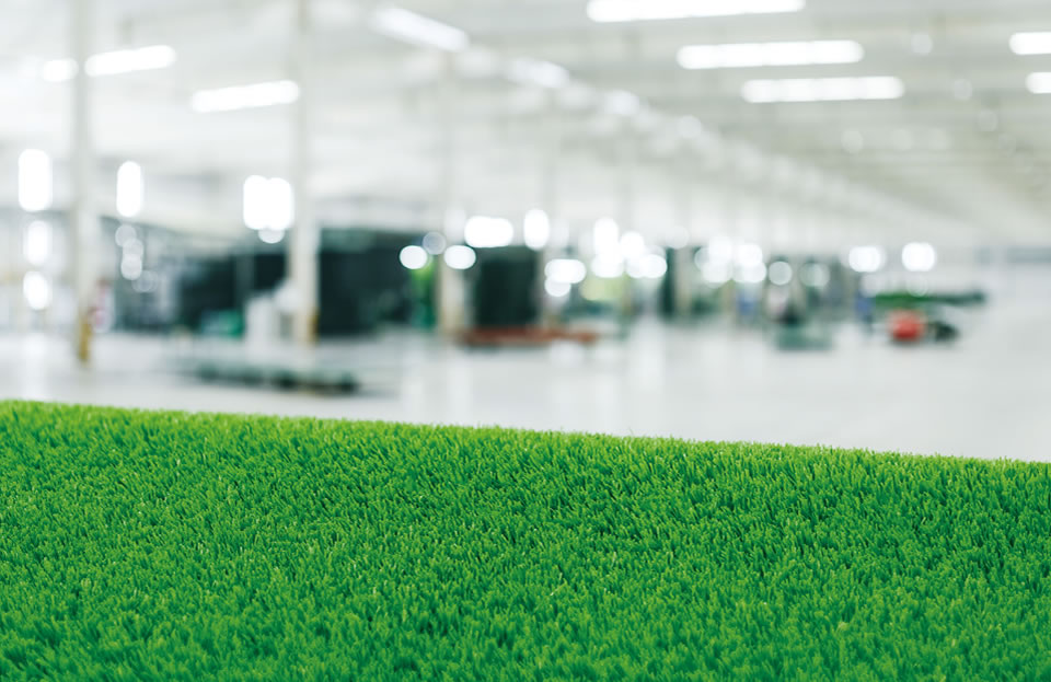 CCGrass L'usine professionnelle du monde du gazon artificiel