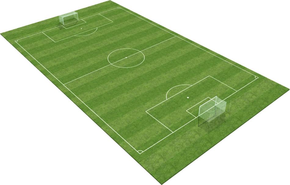Gazon synthétique de CCGrass pour les terrains de football