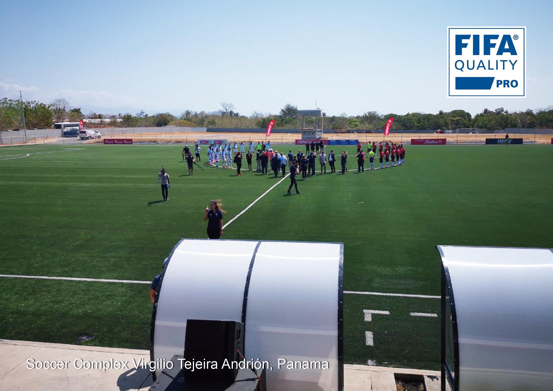 CCGrass a complété le projet du terrain FIFA Quality Pro au Panama