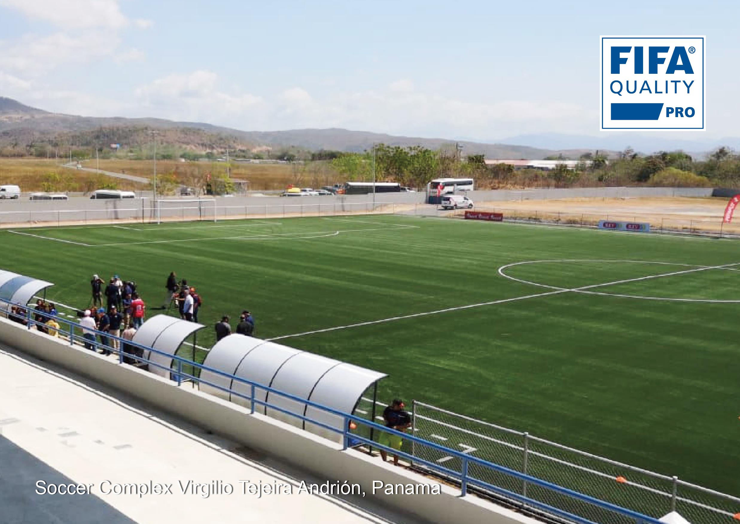 CCGrass a complété le projet du terrain FIFA Quality Pro au Panama1