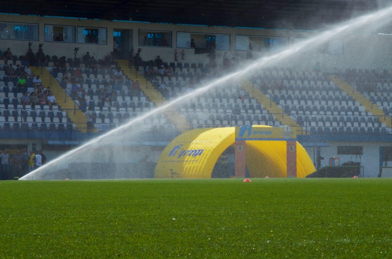 Stade brésilien choisit le gazon de CCGrass1
