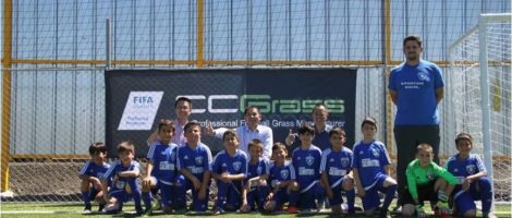 CCGrass Installation for Revo Soccer