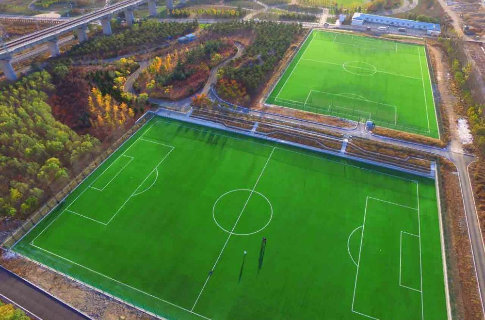 DALIANWAN OLD FISHERMAN FOOTBALL STADIUM OF CHINA – DALIAN (CHINA PR)