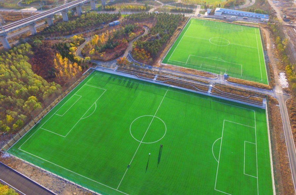 DALIANWAN SEA FEVER FOOTBALL STADIUM OF CHINA – DALIAN (CHINA PR)