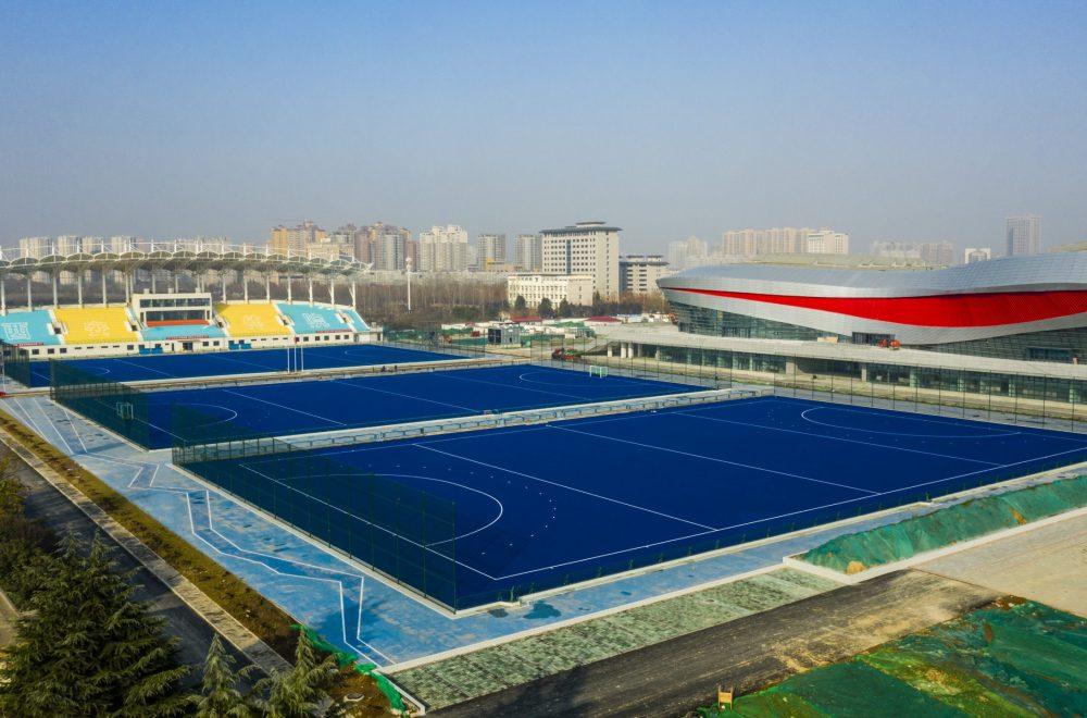 Xi'an Physical Education University Huyi Campus, China