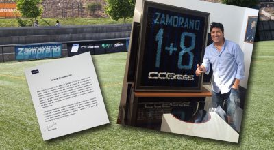It's Thumbs Up from Zamorano for CCGrass!