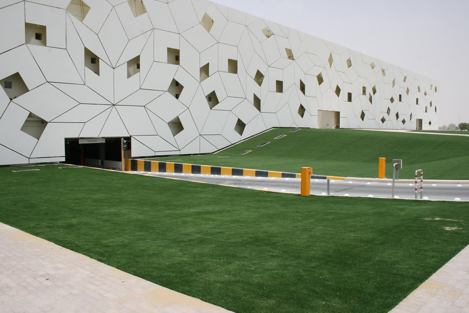 City & Commercial Area -Qatar