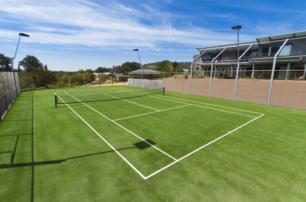 Wodonga Tennis Court-Tuff