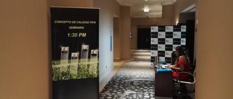 Fruitful FIFA Quality Concept Seminar in Peru