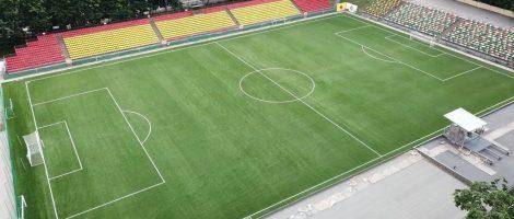 CCGrass установила сертифицированное FIFA Quality Pro поле в Литве