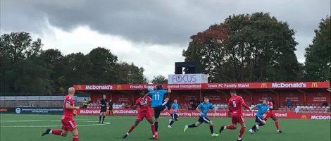 Первый матч National South game провели в городе Хемел Хемпстед на их новом поле