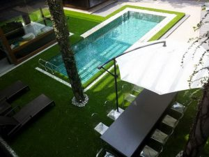 villa-ladscape celebration Hot-Product Stemgrass ccgrass artificial grass manufacturer