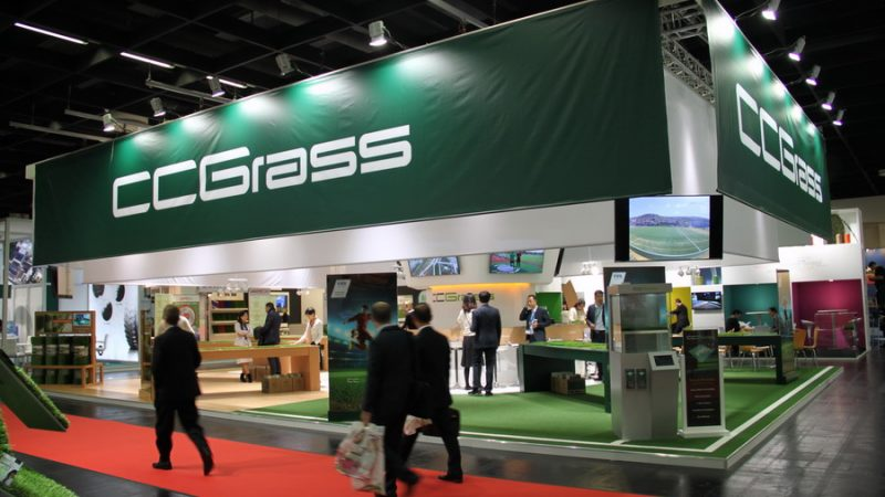 CCGrass at Int'l Trade Fair FSB 2015