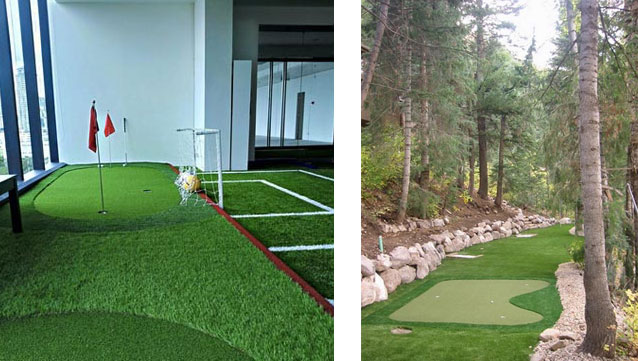 Artificial Grass for Golf; a Practical Choice