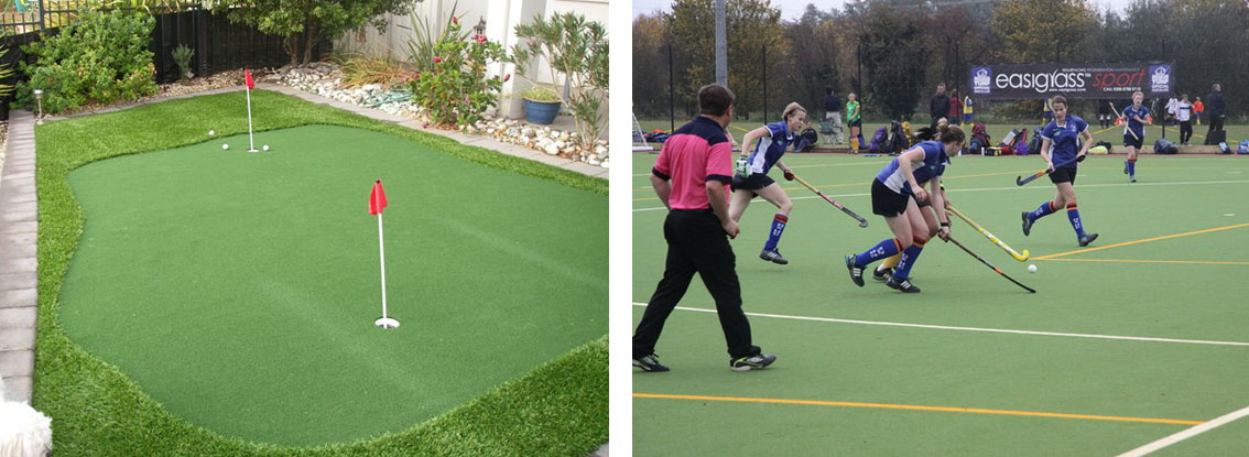 Synthetic Turf for Sports Areas
