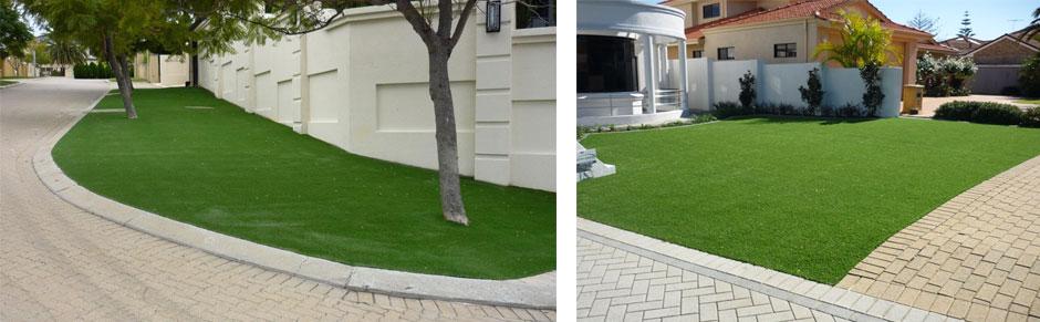 Fake Grass Improves Gardens & Landscapes