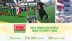 ccgrass artificial grass manufacturer HWC The Homeless World Cup