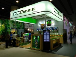 cantonfair spring2 2016 ccgrass artificial grass manufacturer high quality sales tools experience marketing team