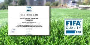 ccgrass artificial grass FIFA pro football field