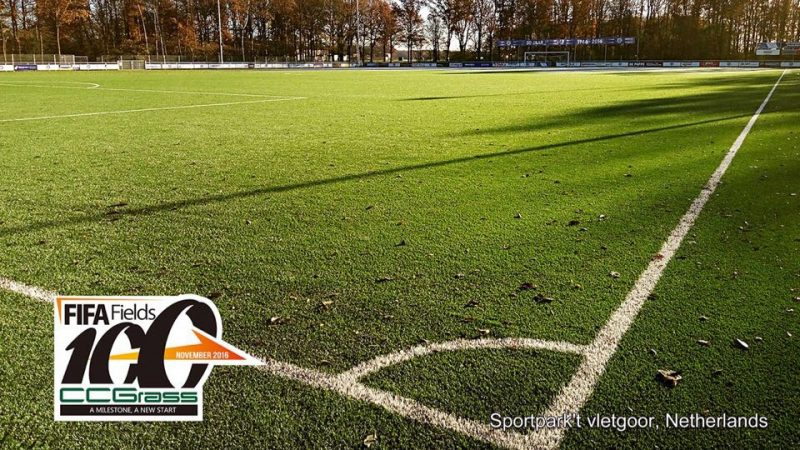 100th FIFA Certified Field Installed by CCGrass