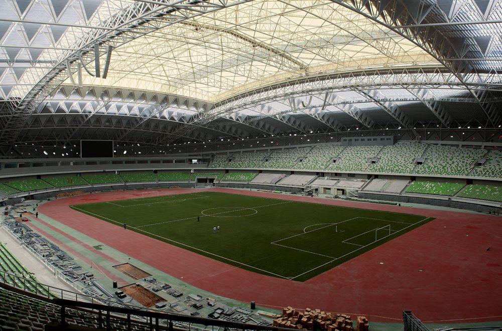 Erdos Dongsheng Sports Center, Erdos (China PR)
