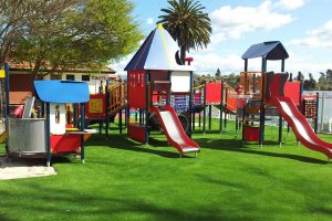 ccgrass artificial grass manufacturer landscape leisure Playground - New Zealand