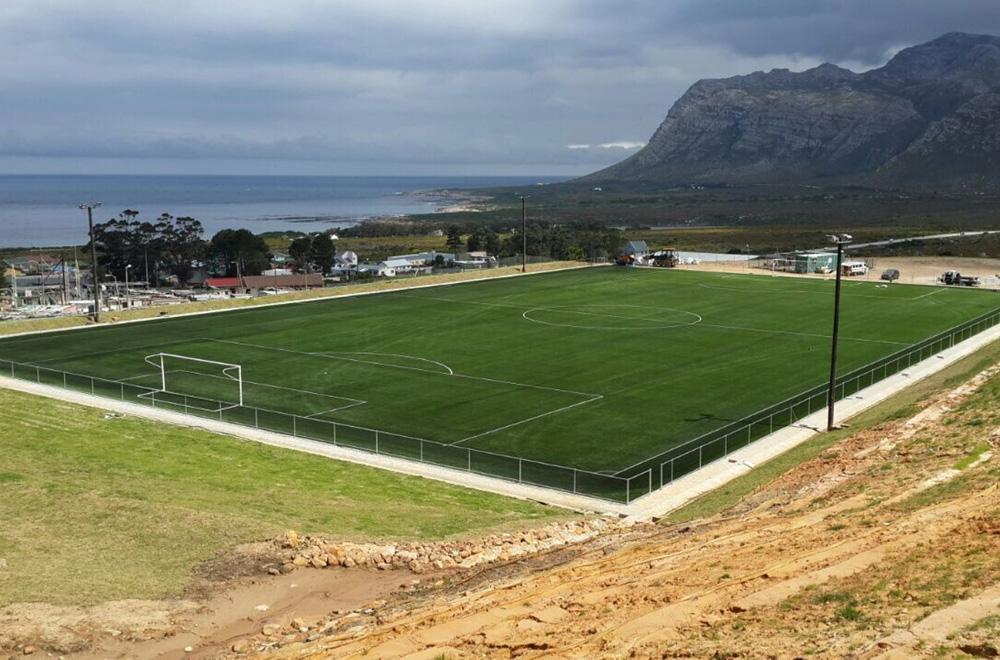 Soccer Field Kleinmond, Kleinmond (South Africa)