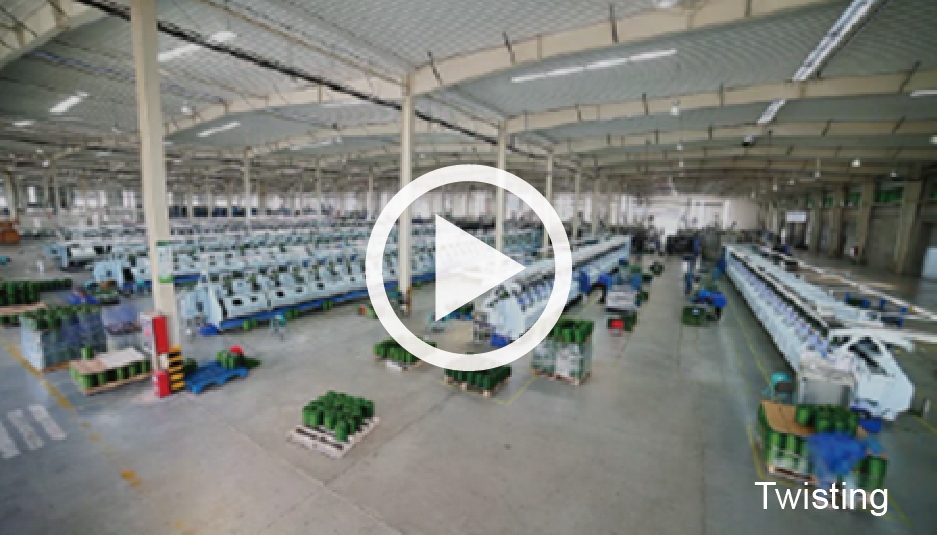 Twisting ccgrass Synthetic-turf manufacturer factory tour