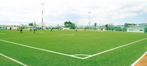 ccgrass-sports artificial grass manufacturer Synthetic-turf-field-Olympiacos CFP, Greece