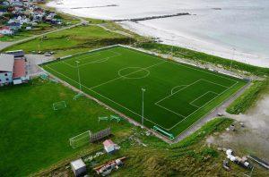CCGrass artificial grass football FIFA field BLEIK-STADION,-Norway