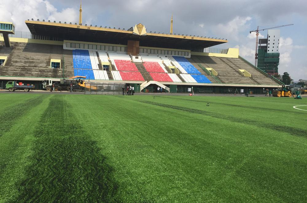 National Stadium (Olympic Stadium), Phnompenh (Cambodia)
