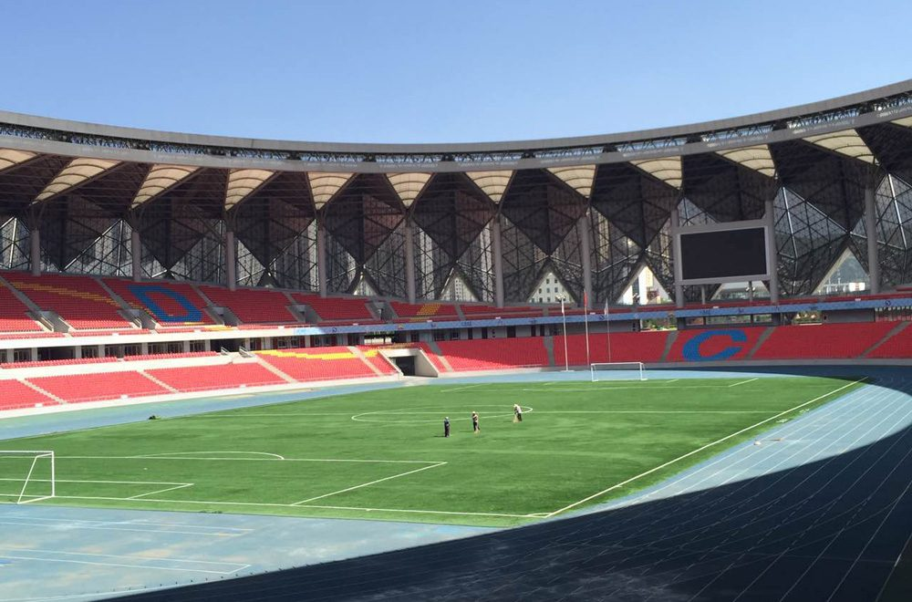 QINGHAI PROVINCE SPORTS CENTER STADIUM – XINING (CHINA PR)