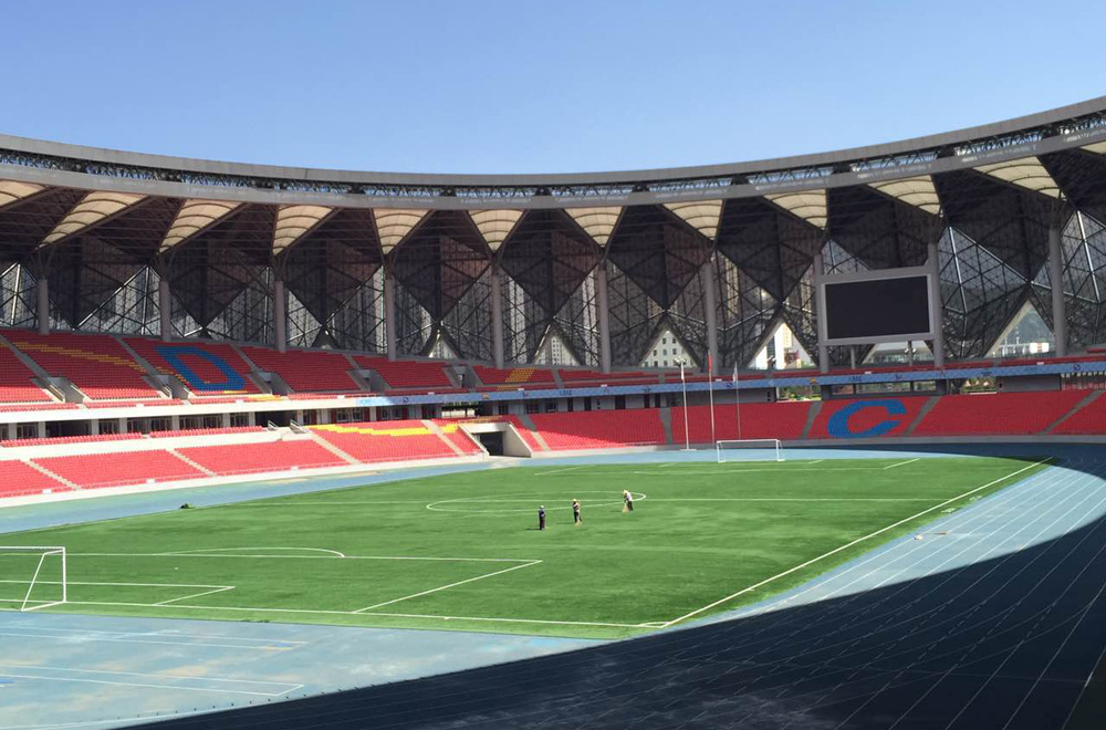 CCGrass artificial grass football FIFA field Qinghai-Province-Sports-Center-Stadium,-China-2