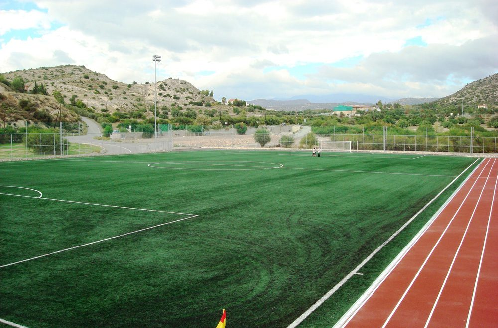 THE HERITAGE PRIVATE SCHOOL STADIUM – LIMASSOL (CYPRUS)