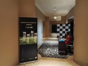 ccgrass artificial grass factory Bonanza FIFA certified laboratory Lima Peru