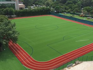 CCGrass artificial grass football FIFA field Multi-purpose Filed in Thailand