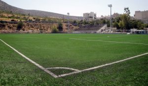 ccgrass Synthetic-turf football -field Argiroupoli's Second Stadium - ATHENS (GREECE)new