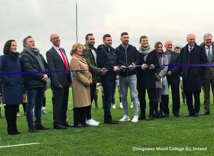 CCGrass world largest producer synthetic turf manufacturer Clongowes Wood College SJ, Ireland