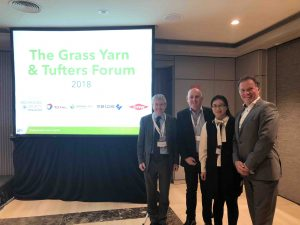 CCGrass at AMI Grass Yarn & Tufters Forum 2018 Barcelona