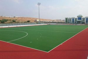 ccgrass artificial grass preferred supplier hockey field SDAT - Hockey Stadium, Kovilpatti, Tamil Nadu,Chennai, India